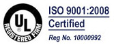 UL and ISO Certified